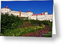 New England Resort Greeting Card