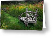 New England Summer Rustic Greeting Card