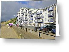 New Flats Overlooking Sandown Esplanade Greeting Card
