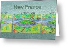 New France Mug Shot Greeting Card