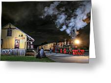 New Freedom Pa Steam Train Greeting Card