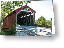 New Germantown Covered Bridge Greeting Card