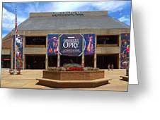 New Grand Ole Opry House Greeting Card