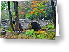 New Hampshire Bridge Greeting Card