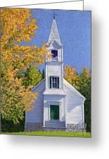 New Hampshire Church Greeting Card