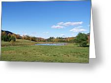 New Hampshire In The Fall 2 Greeting Card