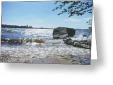 New Hampshire Lake Gale Greeting Card