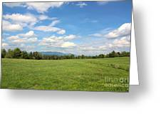 New Hampshire Mountain Meadow Greeting Card