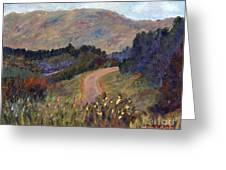 New Hampshire Road Greeting Card