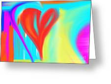 New Heart Greeting Card