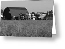 New Holland Bale Wagons Greeting Card