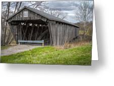 New Hope Covered Bridge  Greeting Card