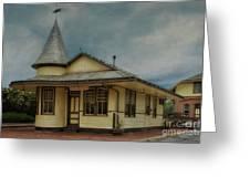 New Hope Train Station Greeting Card