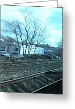 New Jersey From The Train 4 Greeting Card