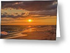New Jersey Has The Best Sunsets - Cape May Greeting Card