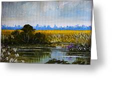 New Jersey Marsh Greeting Card