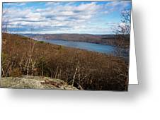 New Jersey Mountaintop View Greeting Card