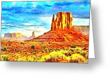 New Mexico Beautiful Desert - Pa Greeting Card