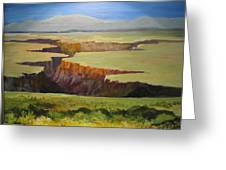New Mexico Canyon Greeting Card