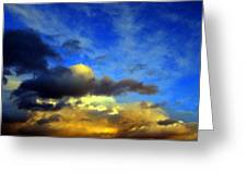 New Mexico Clouds Greeting Card