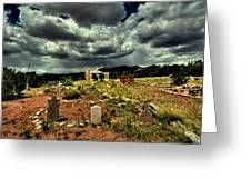 New Mexico Graveyard Greeting Card