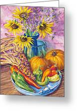 New Mexico Harvest Greeting Card