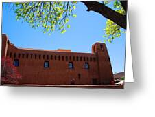 New Mexico Museum Of Art Greeting Card
