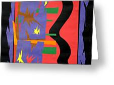 New Mexico On My Mind Greeting Card by Teddy Campagna