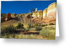 New Mexico Ranch Greeting Card