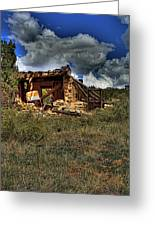 New Mexico Shack Greeting Card