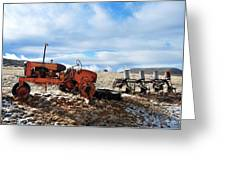 New Mexico Tractor Greeting Card