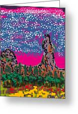 New Mexico Twilight Greeting Card