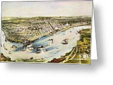 New Orleans, 1851 Greeting Card by Granger