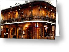 New Orleans And All That Jazz Greeting Card by Kim Fearheiley