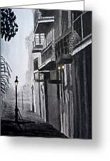 New Orleans At Night Greeting Card