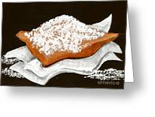 New Orleans Beignet Greeting Card