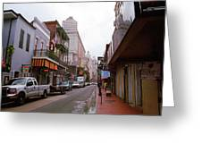 New Orleans Bourbon Street 2004 #45 Greeting Card