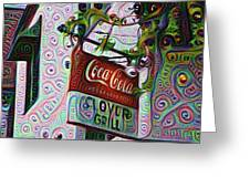 New Orleans - Clover Grill Greeting Card