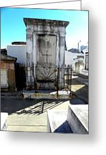 New Orleans Crypt 8 Greeting Card