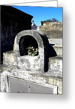 New Orleans Crypts 2 Greeting Card