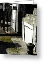 New Orleans Crypts 3 Greeting Card