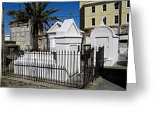 New Orleans Crypts 5 Greeting Card