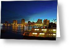 New Orleans Downtown Skyline Greeting Card