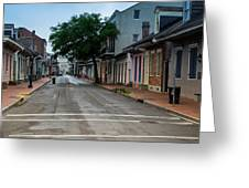 New Orleans French Quarter Special Morning Greeting Card