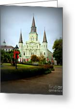 New Orleans Holiday Greeting Card