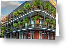 New Orleans House Greeting Card