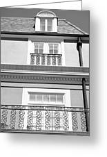New Orleans Iron Scrollwork Greeting Card