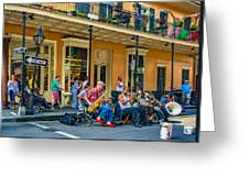 New Orleans Jazz 2 Greeting Card