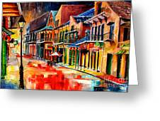New Orleans Jive Greeting Card