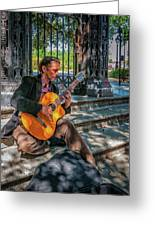 New Orleans Musician - Chris Craig Greeting Card